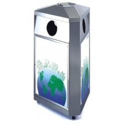 Recycling wastepaper bin