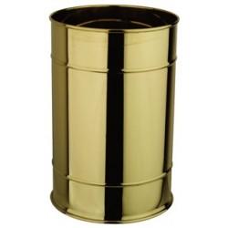 Brass bedroom wastepaper