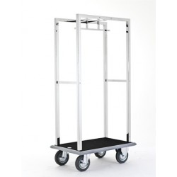 "Luggage trolley ""Qvadrat"" 920x620x1850 mm"